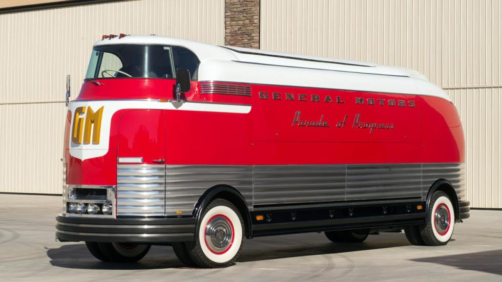 GM Futurliner autobus clásico caro