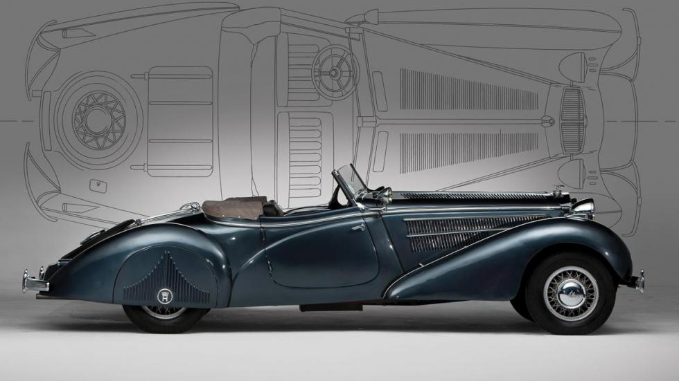 Horch 853A Special Roadster descapotable lujo clásico
