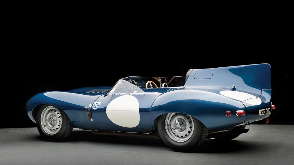 Jaguar D-Type trasera deportivo motorsport lujo