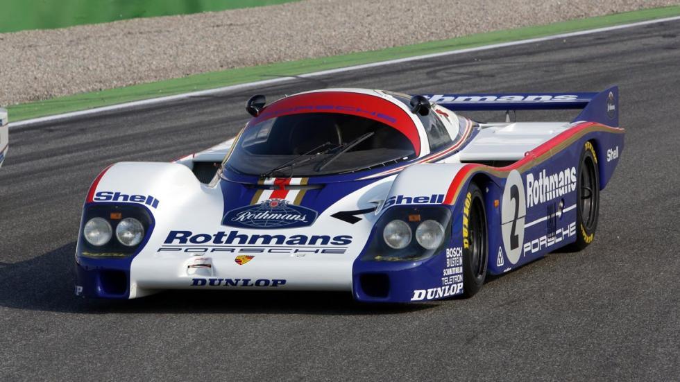 Porsche 956 Le Mans deportivo motorsport