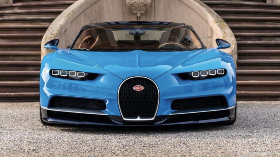 Coches que Pegasus no puede seguir: Bugatti Chiron (I)