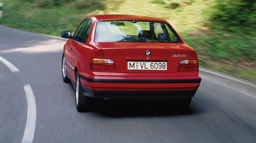 Coches que son un imán para la Guardia Civil - BMW Serie 3 E36