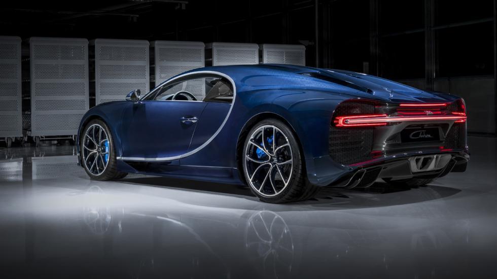 Coches que son un imán para los radares - Bugatti Chiron