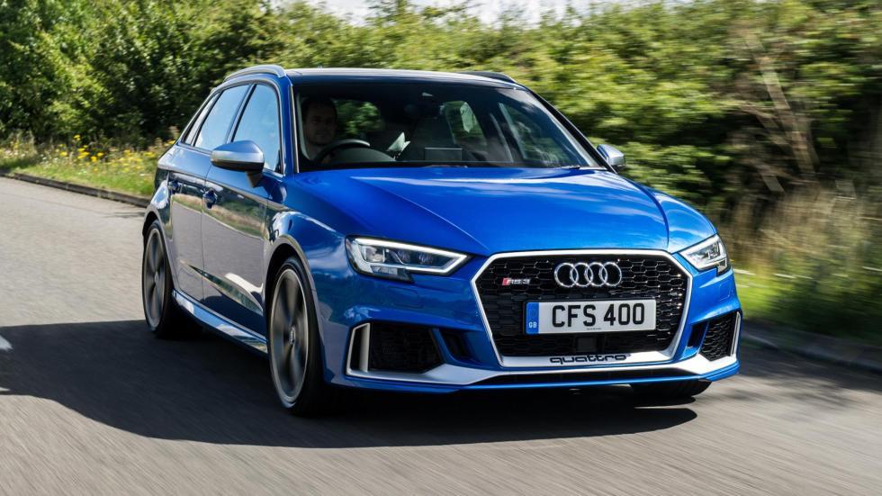 Compactos que más aceleran: Audi RS3, 4,1 segundos