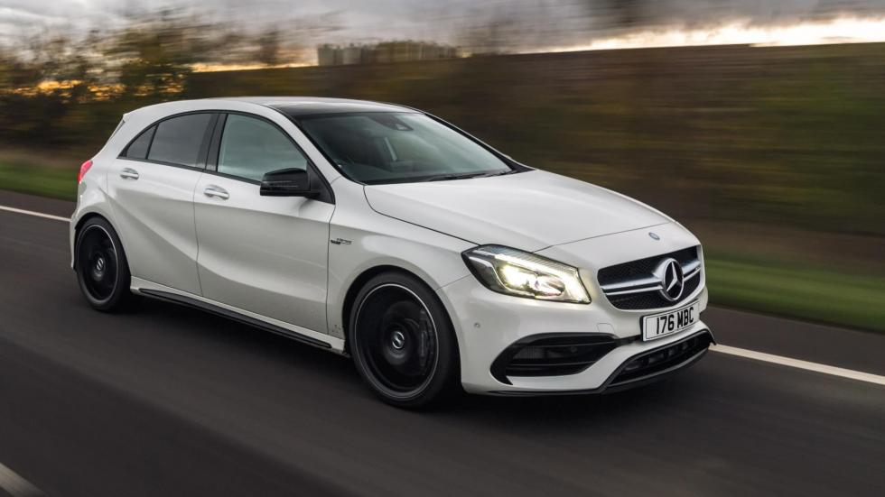 Compactos que más aceleran: Mercedes-AMG A45, 4,2 segundos
