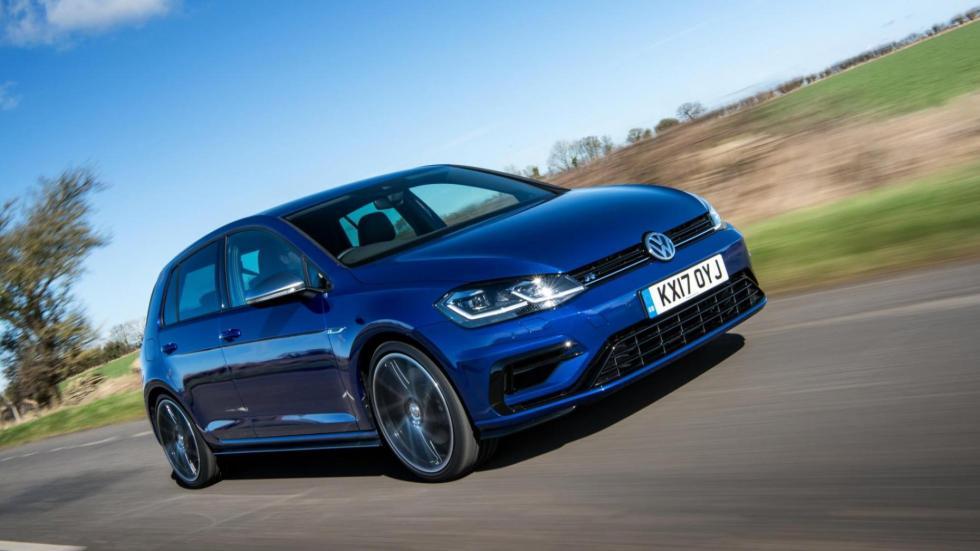 Compactos que más aceleran: Volkswagen Golf R, 4,6 segundos
