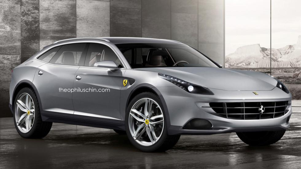 Cosas que creíamos que no veríamos nunca en el mundo del motor - Un Ferrari SUV