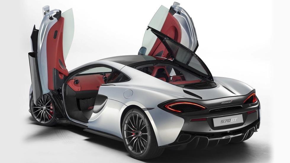 Los deportivos más prácticos del mercado - McLaren 570GT