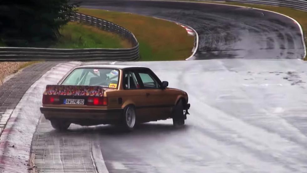 Las derrapadas más salvajes de Nürburgring