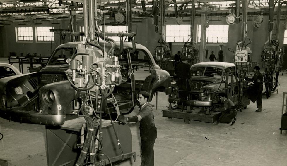 Fábrica del Seat 1400 (3)