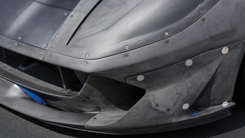 Maqueta Ferrari 812 Superfast aerodinamica