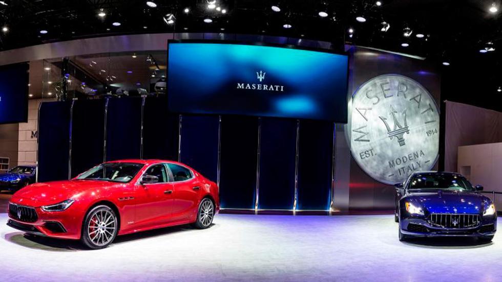 Maserati en el Salón de Chengdu