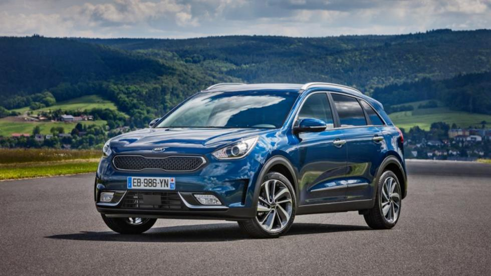 Mejores coches híbridos calidad-precio 2017: Kia Niro