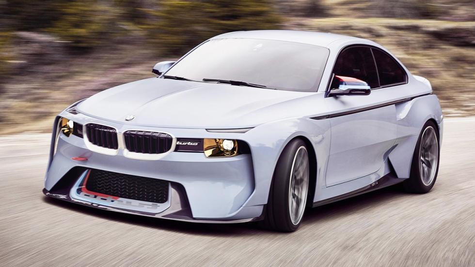 Los mejores concept cars de BMW - BMW 2002 Hommage Concept (2016)