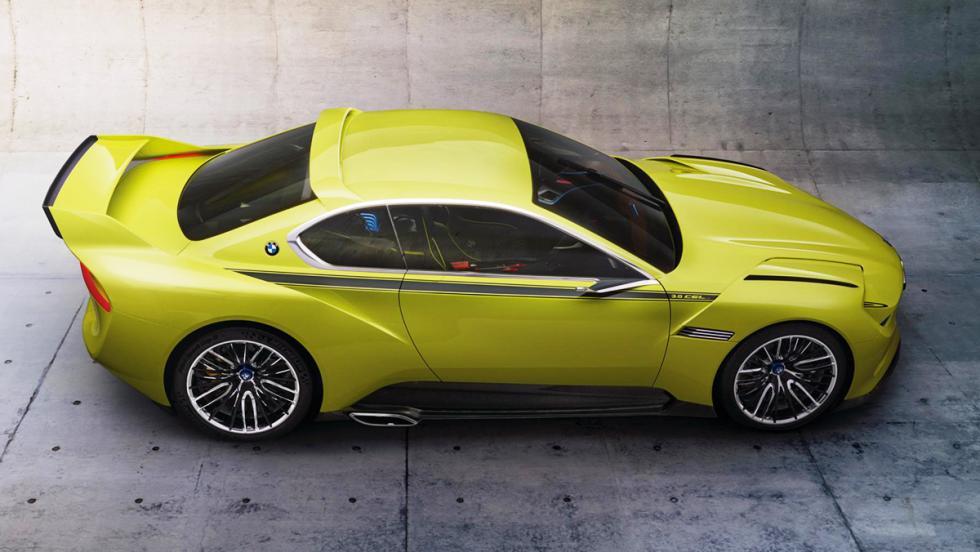 Los mejores concept cars de BMW - BMW 3.0 CSL Hommage Concept (2015)