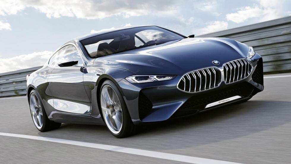 Los mejores concept cars de BMW - BMW Serie 8 Concept (2017)