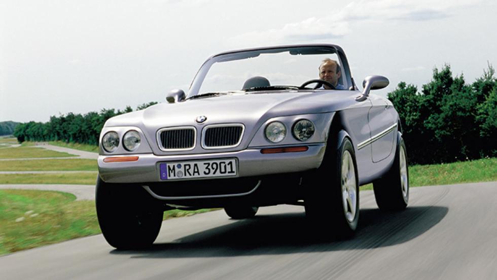 Los mejores concept cars de BMW - BMW Z18 Concept (1995)