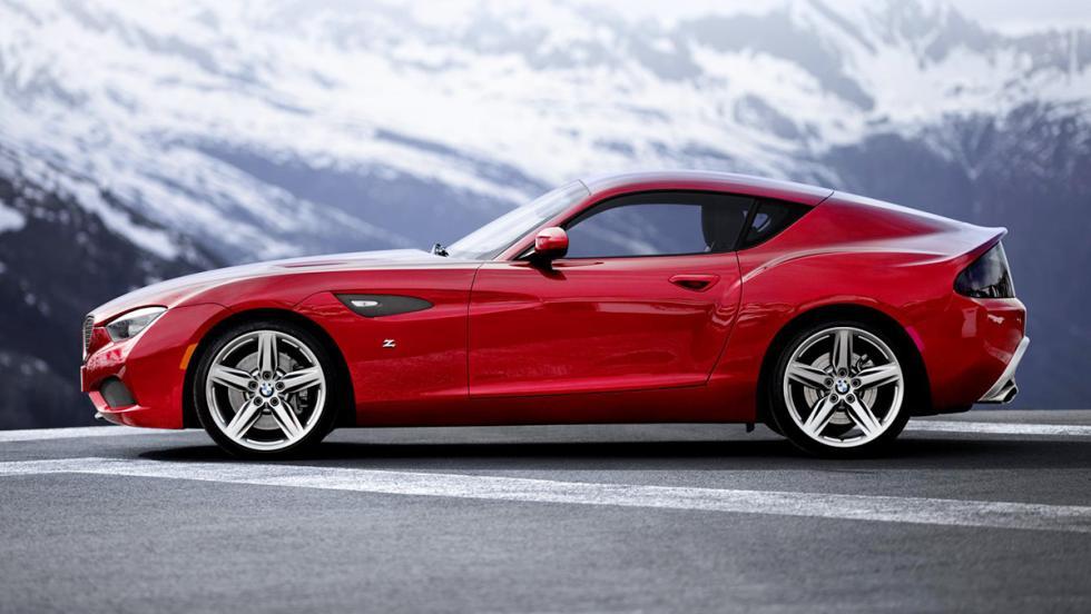 Los mejores concept cars de BMW - BMW Zagato Coupé Concept (2012)