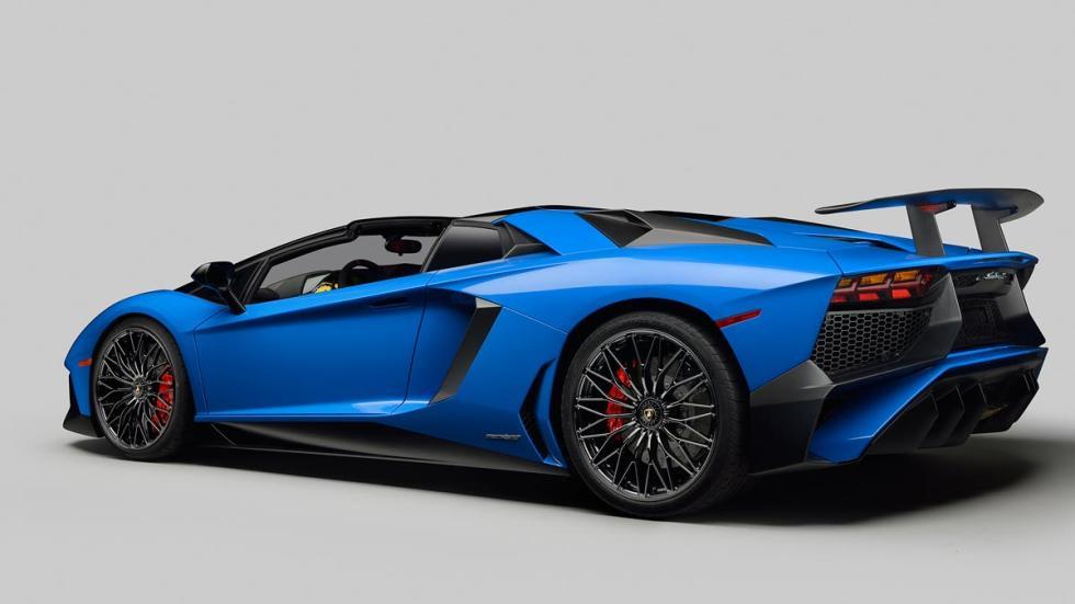 Lamborghini Aventador SV Roadster superdeportivo