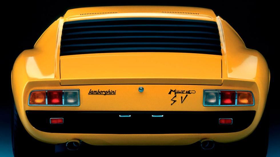 Lamborghini Miura P400 SV deportivo clásico