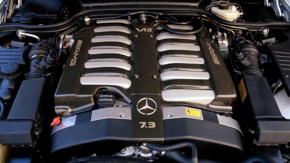 Mercedes SL 73 AMG (VI)
