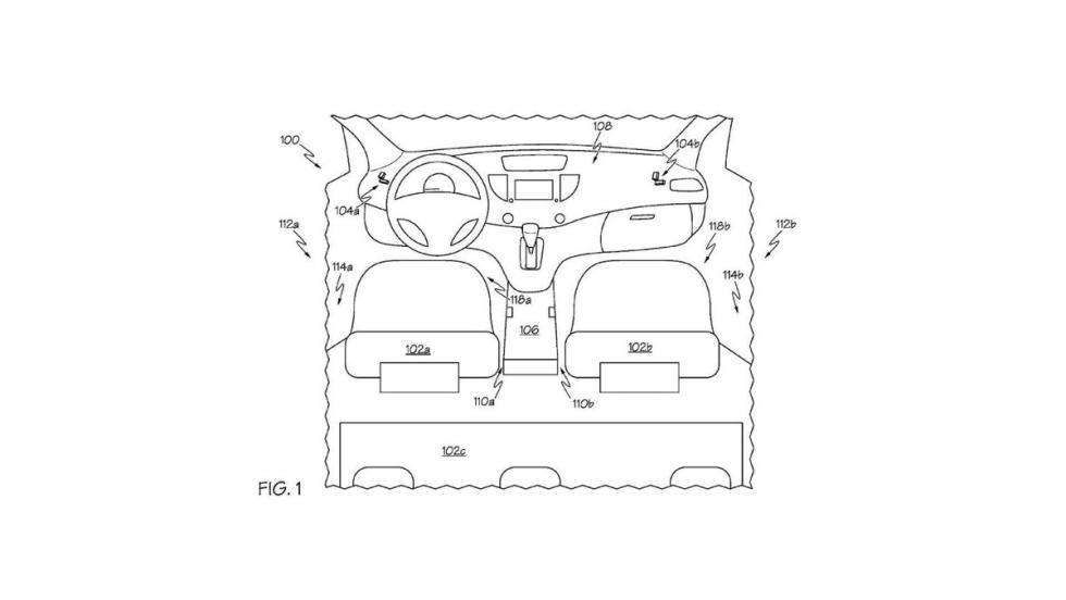 Patente asientos Toyota