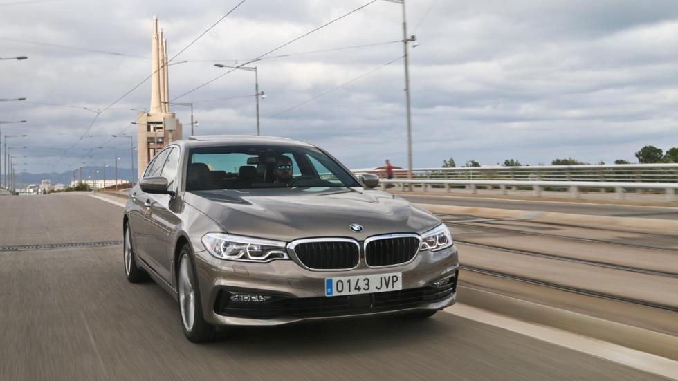 Prueba BMW 530i 2017 Serie 5 nuevo