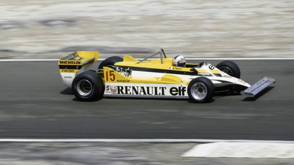Renault en F1- 1981
