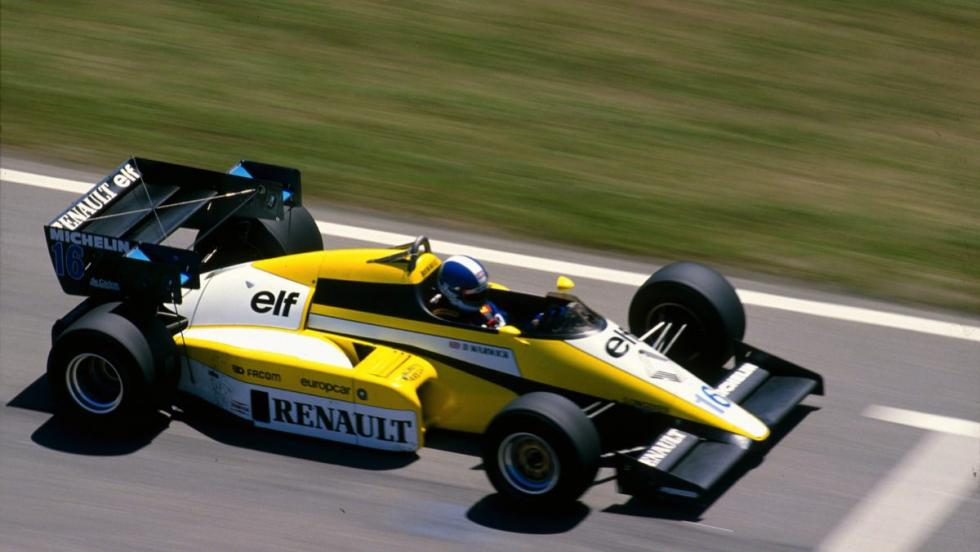 Renault en F1-1984