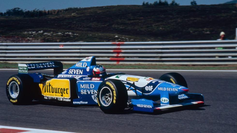 Renault en F1 - 1995