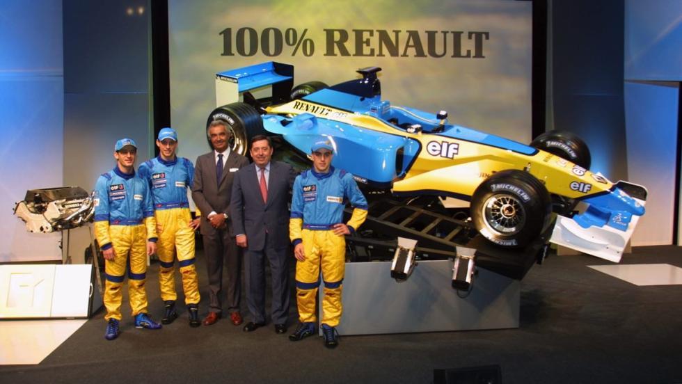 Renault en F1 - 2002