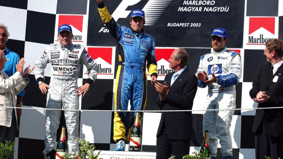 Renault en F1 - 2003