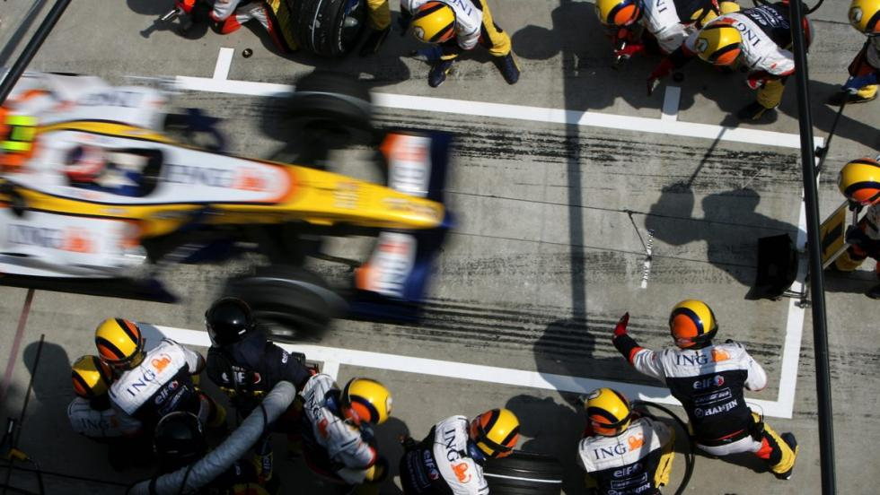 Renault en F1 - 2007