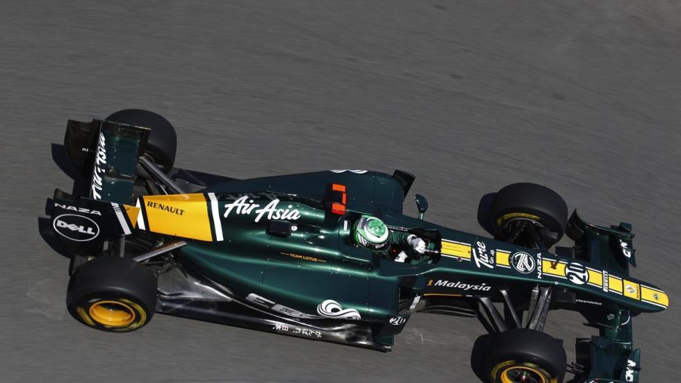 Renault en F1 - 2011