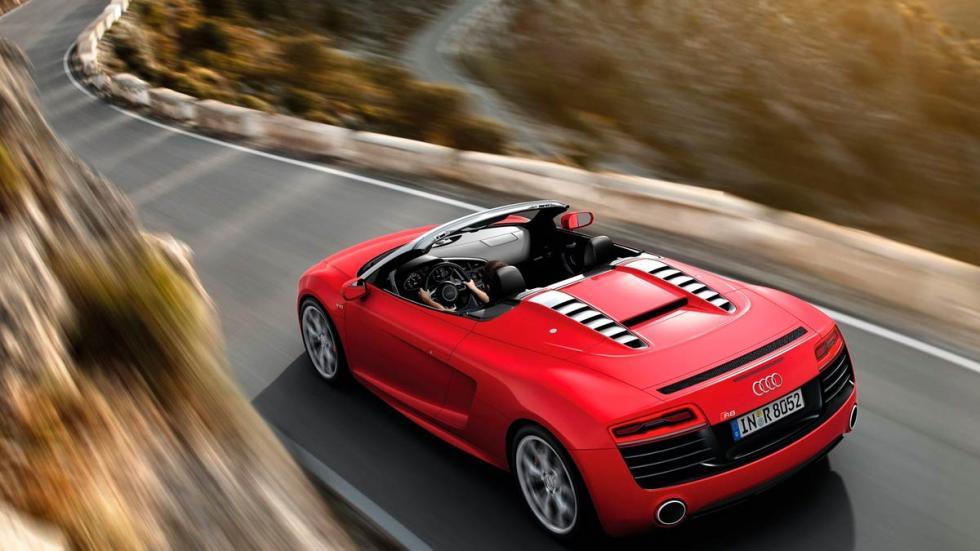 superdeportivos Audi R8 V10 Spyder