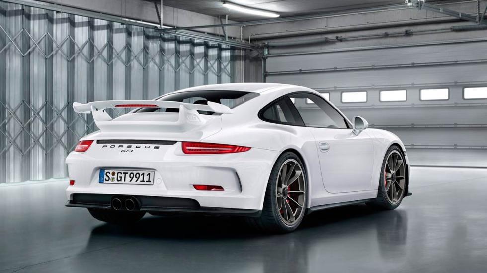 superdeportivos Porsche 911 GT3 trasera