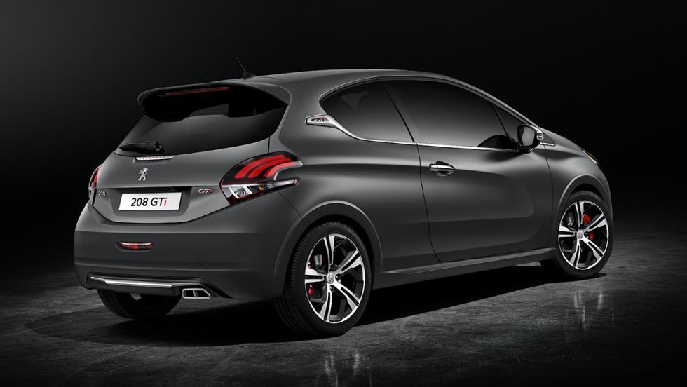 5 coches deportivos por menos de 30.000 euros - Peugeot 208 GTi
