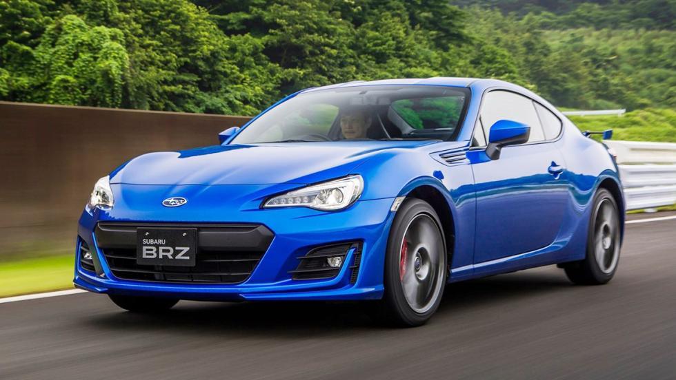5 coches deportivos por menos de 30.000 euros - Subaru BRZ