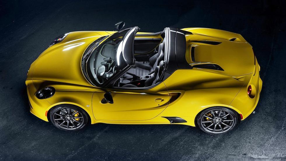 5 coches nada prácticos pero muy molones que puedes comprarte hoy - Alfa Romeo 4C Spider