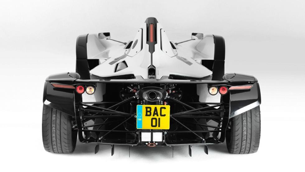 5 coches nada prácticos pero muy molones que puedes comprarte hoy - BAC Mono