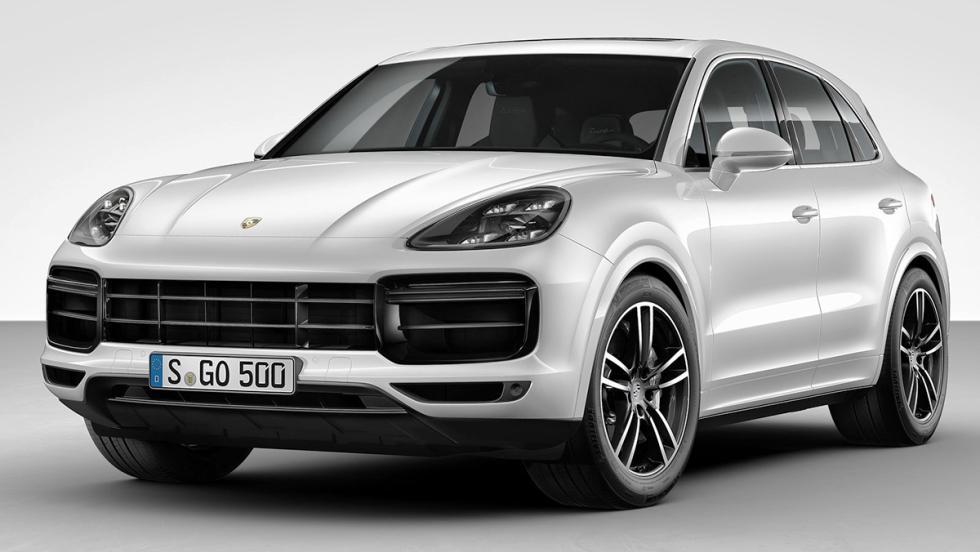 5 coches con los que debería patrullar la Guardia Civil - Porsche Cayenne Turbo