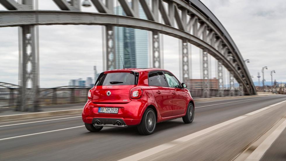 5 coches que serían mejores como eléctricos - Smart Brabus