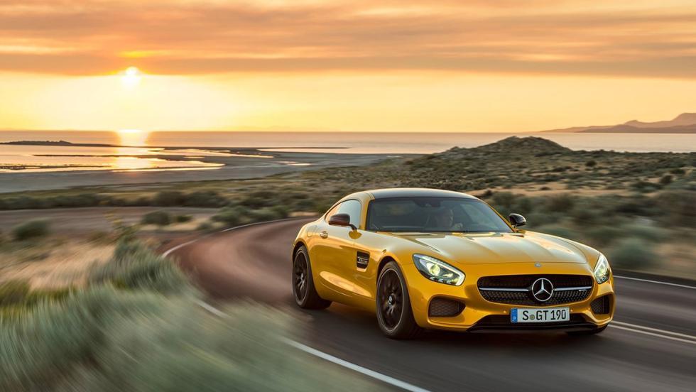 5 deportivos a los que el nuevo Cayenne Turbo dejaría en ridículo en el 0-100 - Mercedes-AMG GT