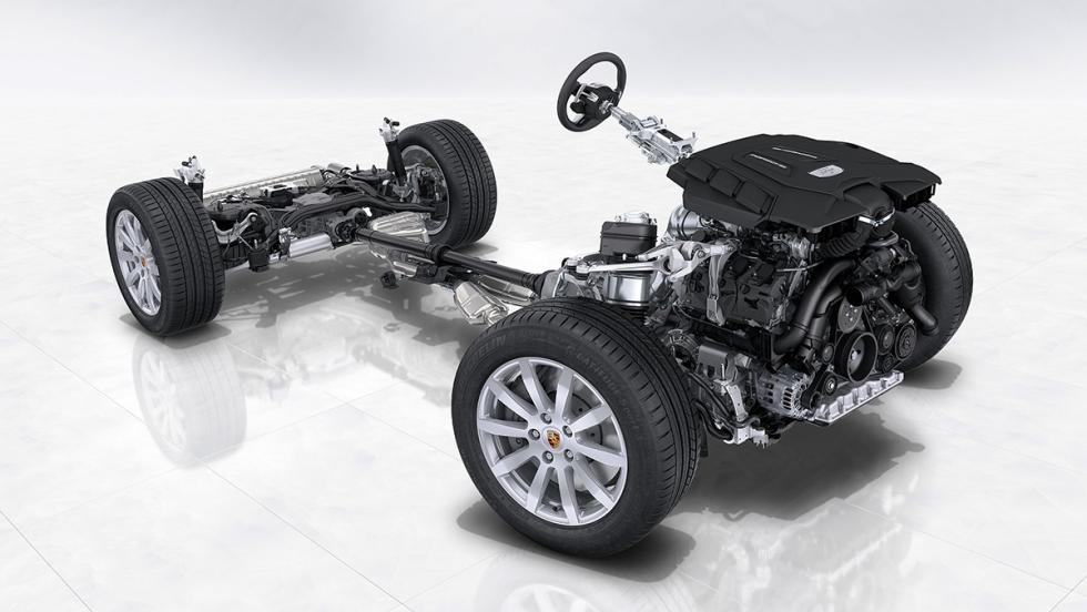 5 tecnologías del Porsche 911 presentes en el nuevo Cayenne 2018 - Batería aligerada
