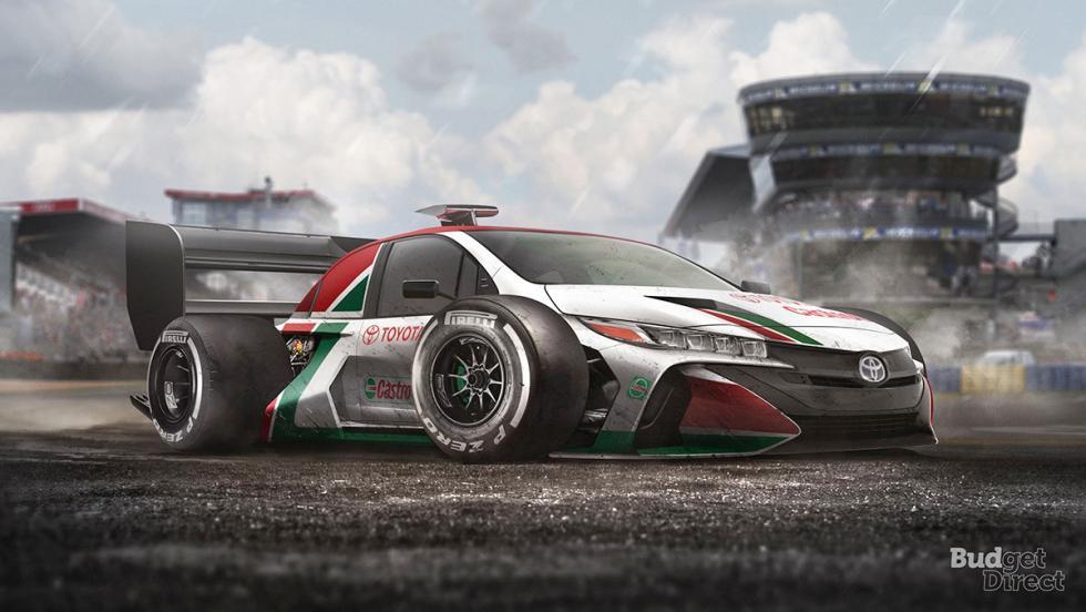 9 coches convertidos en monoplazas de fórmula 1 - Toyota Prius