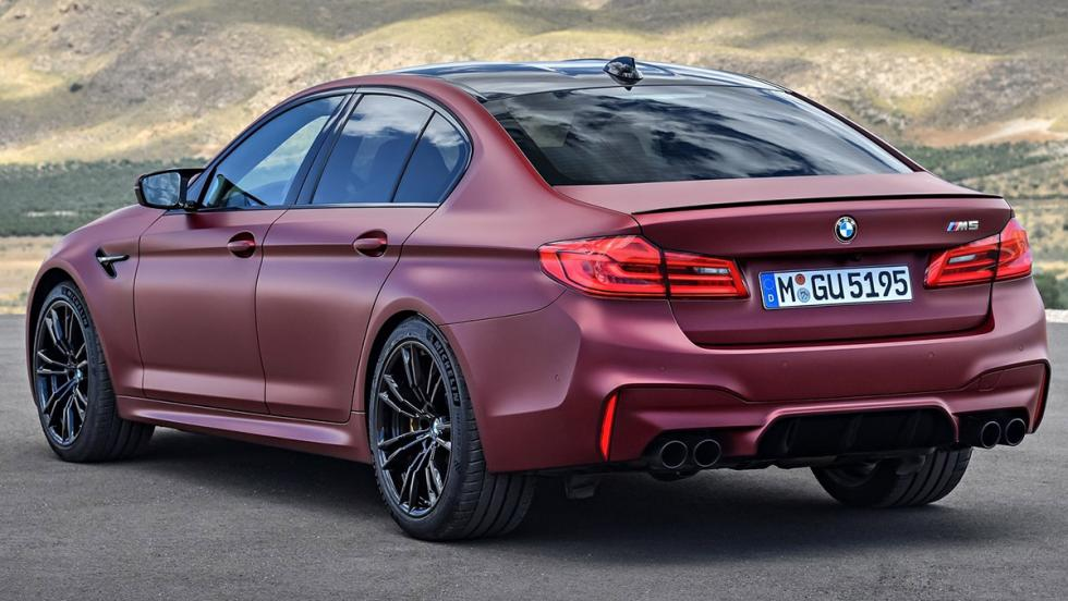 BMW M5 2017 First Edition