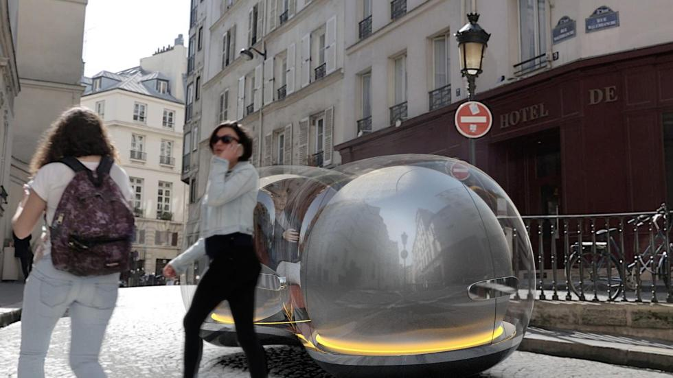 Burbuja autonoma Renault futuro coches autonomos diseño