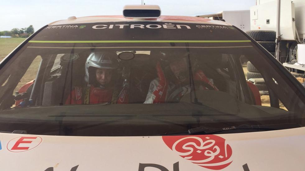 Citroën C360: a la derecha de Kris Meeke