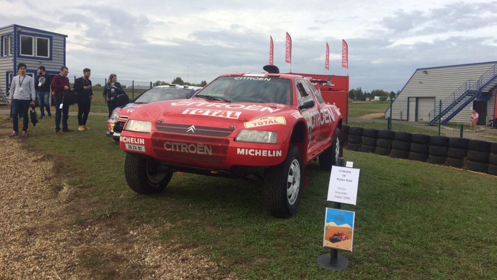 Citroën C360 Experience: Citroën ZX Dakar