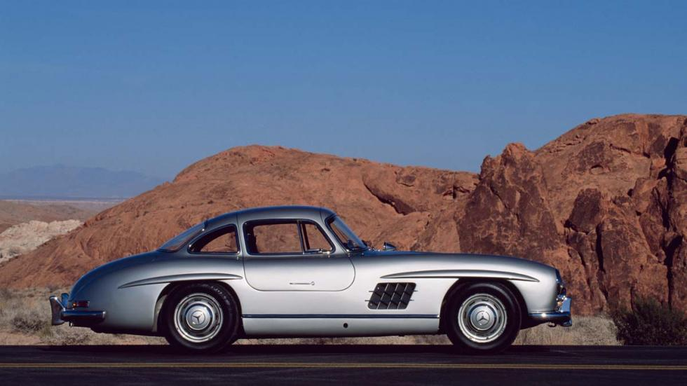 Mercedes 300 SL alas de gaviota roadster deportivo clasico